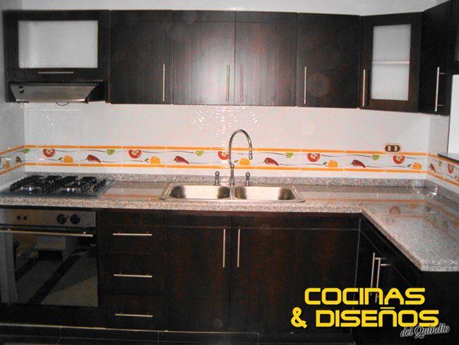 Cocinas integrales en armenia cocinas y disenos del for Cocinas enchapadas